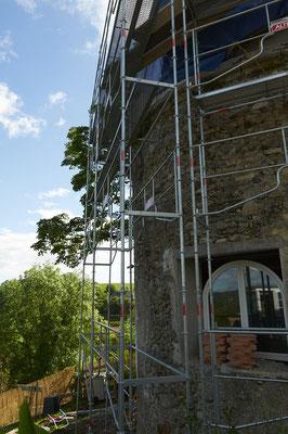 la tour en rénovation