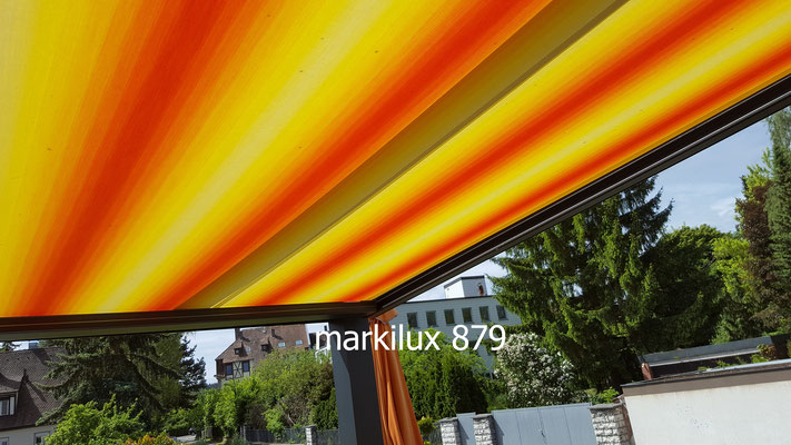 markilux 879, Unterglas-Markise