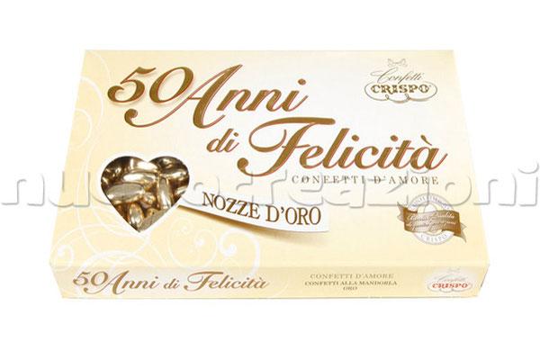 confetti Crispo oro 500g € 14,50