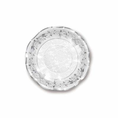 Piatto Diam. 24 cm fondo  prestige argento 10 pz. € 4,50