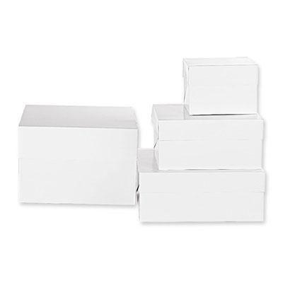 BOX PER DOLCI 26,5 X 26,5 X H 25 CM