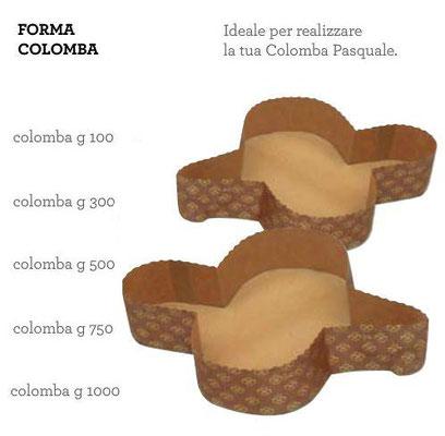 forma da cottura colomba