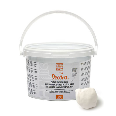Pasta di zucchero bianca nuova formula 5 kg € 35,00