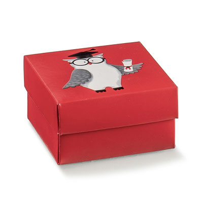 scatolina gufetto laurea