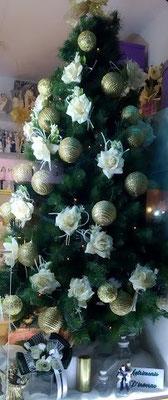 albero di Natale addobbato