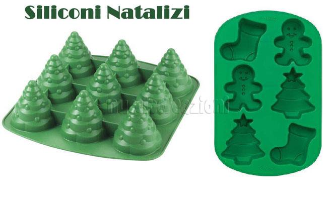 stampo in silicone  alberi di Natale