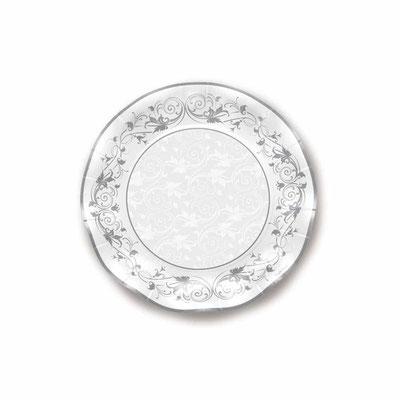 Piatto Diam. 27 cm piano  prestige argento 10 pz. € 5,00