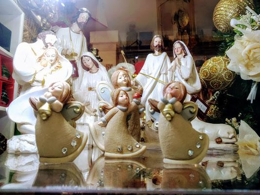Natività e Angeli