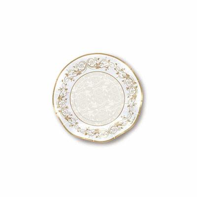 Piatto Diam. 21 cm piano 10 pz. prestige oro € 3,80