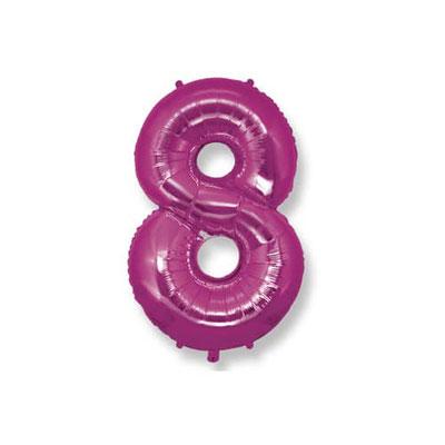 numero 8 fuxia