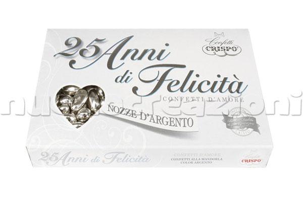 confetti Crispo argento 500g € 13,50