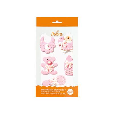 Baby nursery rosa in zucchero  € 5,50