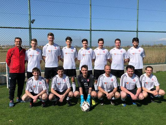 noss'equipa d'Antalya 2019