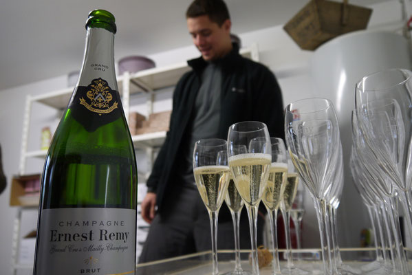 Cave du Champagne Ernest Remy - Mailly Champagne