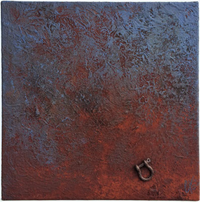 Vieille manille - 40 x 40 cm