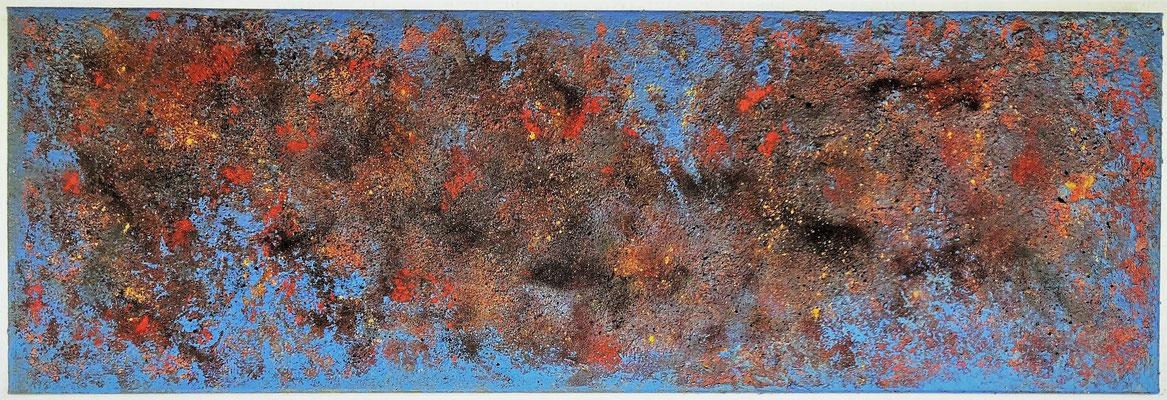 Profondeurs abyssales - 40 x 120 cm