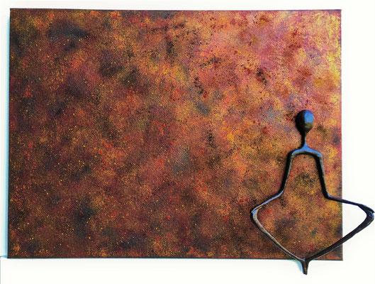 Méditation transcendantale - 60 x 80 cm