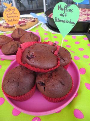 Muffins mit Überraschung - wenn du das Geheimnis gelüftet wissen willst, dann schau bei unseren Rezepten nach!