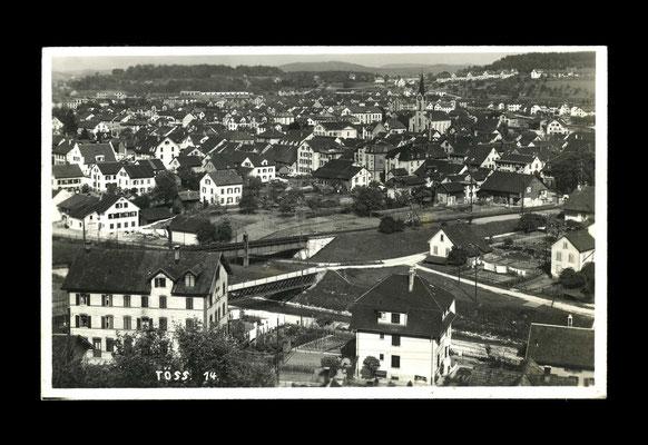 Fotografie vor 1932,     Töss vom Ebnet