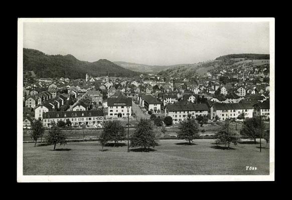 Fotografie vor 1935,     Eichliacker und Töss vom Vogelsang