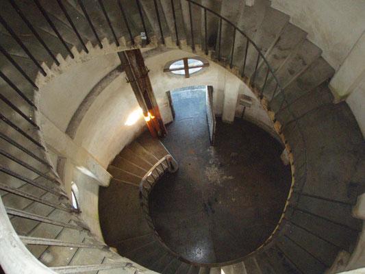 Escalier Château d'Eau Le Corbusier
