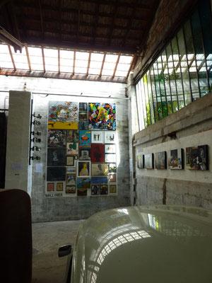 Exposition Jo Brouillon, installation murale, ©Jean de Giacinto