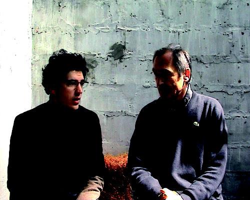 Nathaniel Raymond (à gauche)  et Jean de Giacinto (à droite)