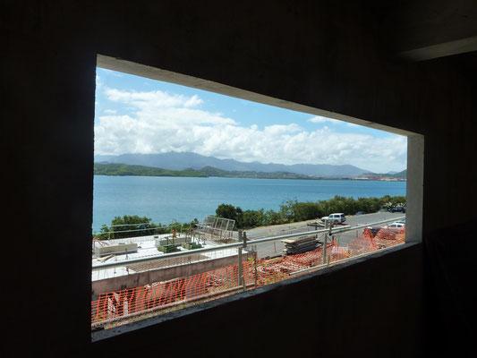 Chantier Université de Nouméa en Nouvelle-Calédonie