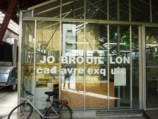 Exposition Jo Brouillon (entrée) ©Jean de Giacinto
