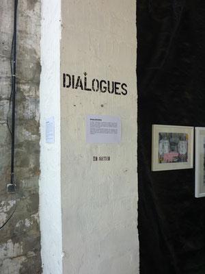 """Exposition Jo Brouillon, galerie """"Dialogues"""", ©Jean de Giacinto"""
