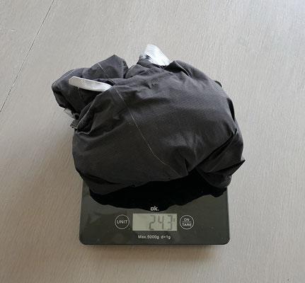 Die R 2W x-light Tech Pants hat ein kleines Packmass und ist sehr leicht.