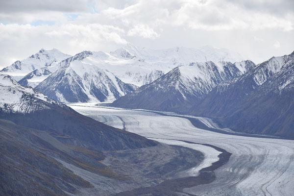 Der Kaskawulsh Gletscher
