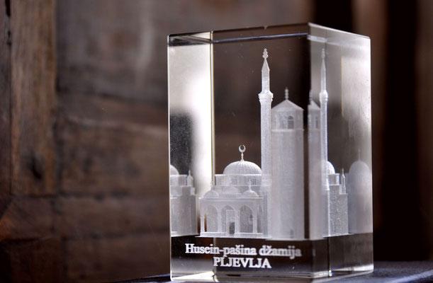Montenegro, Pljevlja, moschea del Pascià Hussein - fotografia di Vittorio Ferorelli