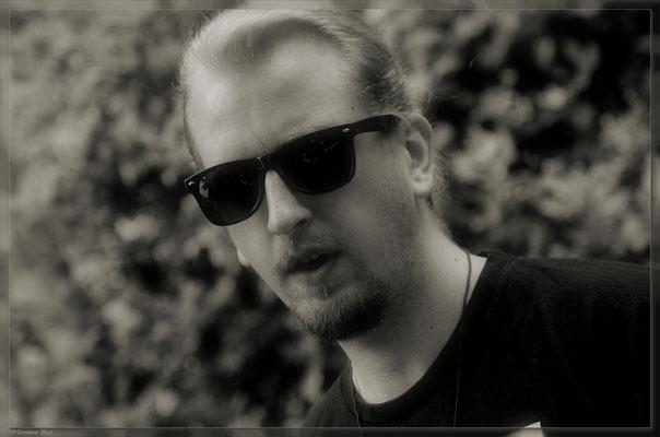 Porträt schwarz-weiß