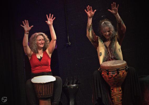 Oriental Rainbow Show - Kufa Krefeld - Live Percussion - Tabla Yalla - Lady-Sahmara-Photo - Kerstin Ellinghoven/Samara Blue - Fotografin Krefeld