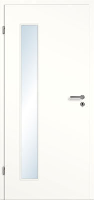 Weißlack 1.0 mit schmalem Lichtausschnitt links
