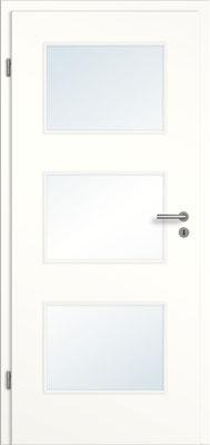Weißlack 1.0 mit unterteiltem Lichtausschnitt
