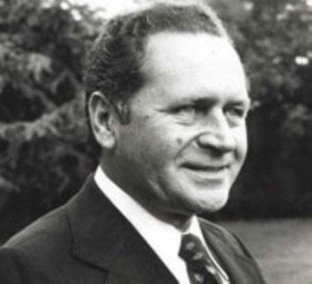 1ter Ehrenpräsident Gerd Noal