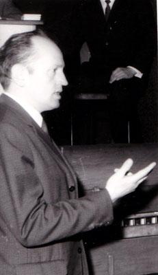 Präsident H. Sporken 1968-1975
