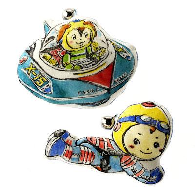 UFO&アストロノーツぬいぐるみ