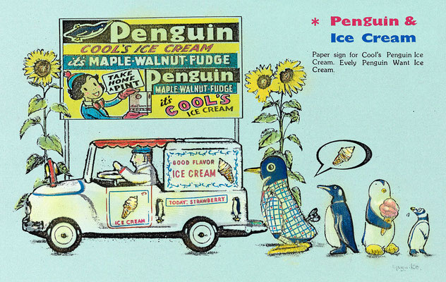 1997 PENGUIN & ICE CREAM