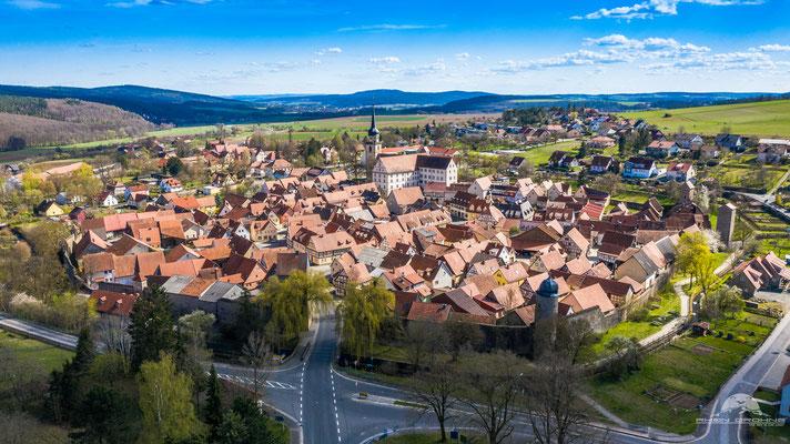 Fladungen in der Rhön ist das nördlichste Örtchen Bayerns