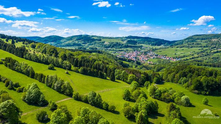 Arnsberg mit Blick Richtung Oberweißenbrunn