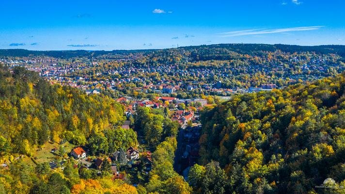 Goldener Oktober in Meiningen