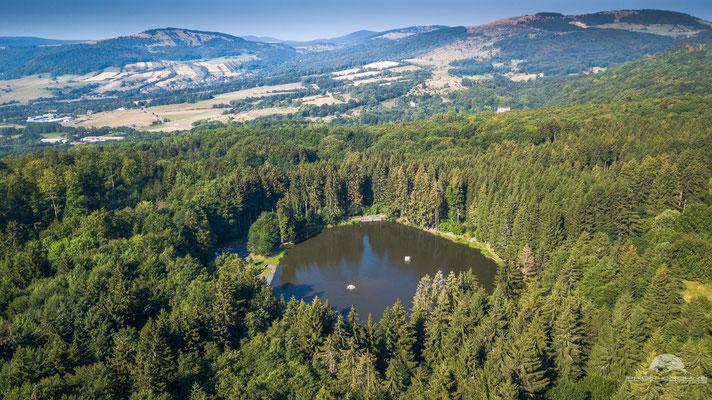 Der Rothsee am Rande der hohen Rhön