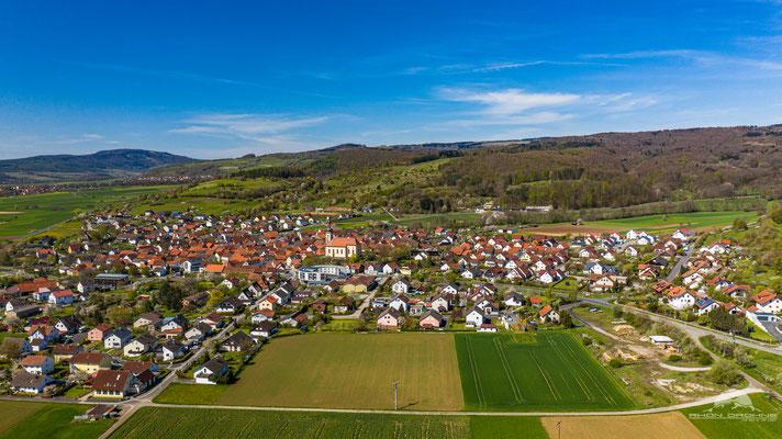 Der staatliche anerkannte Erholungsort Oberelsbach