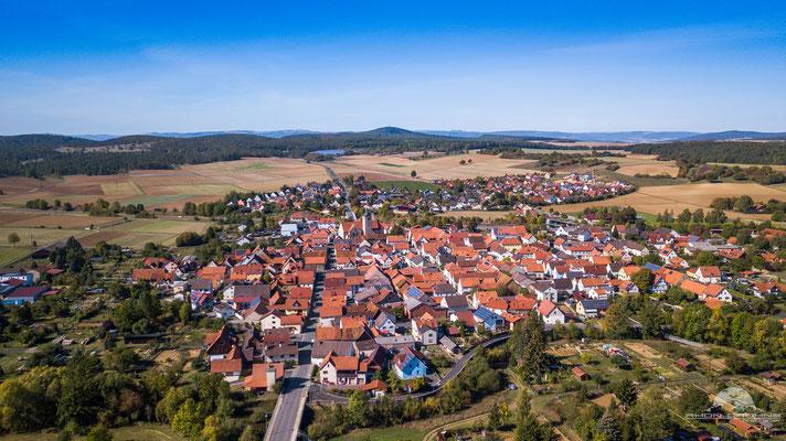 Die Gemeinde Oberstreu