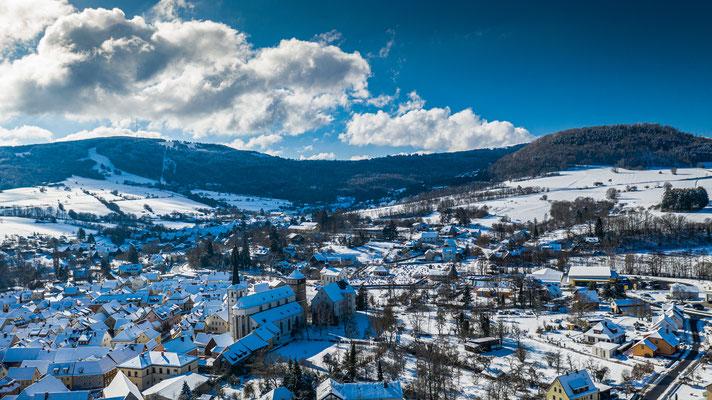 Bischofsheim im Corona Winter