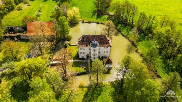 Das Wasserschloss in Kleinbardorf