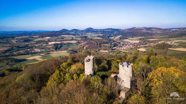 Burgruine Ebersburg im Landkreis Fulda